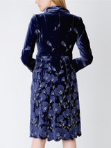 Eton coat Royal Blue Sofia Silk Velvet