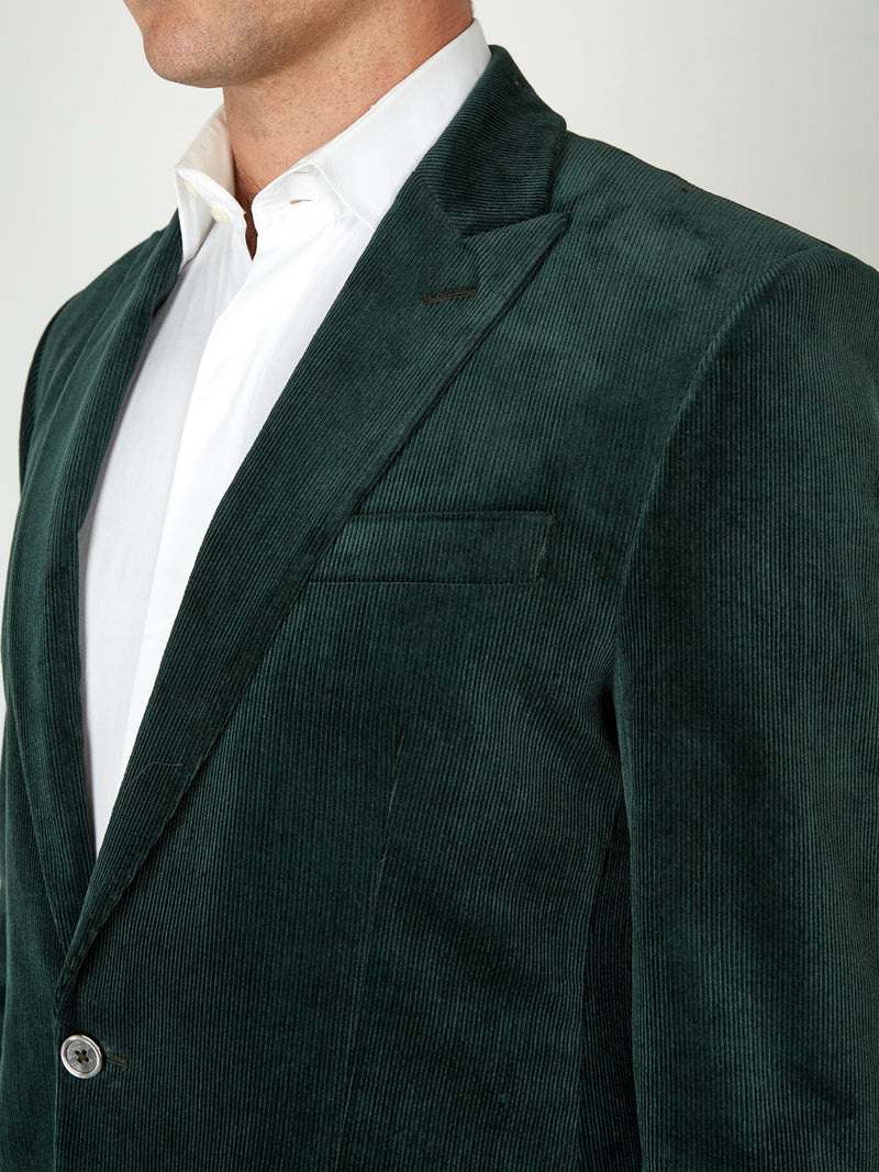 Racing Green Penton Cord Cotton Newport Jacket