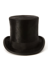 Black Felt Fur Christys Top Hat