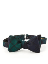 Blackwatch Tartan Wool Bow Tie