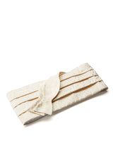 Ivory Albert Silk Pleated Cummerbund Set