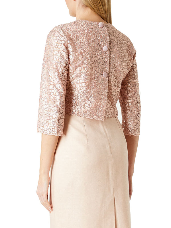 Blush Pasqualino Lace Eddie Top