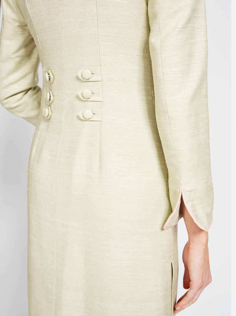 Westminster Coat Dawn Madras Silk Suiting