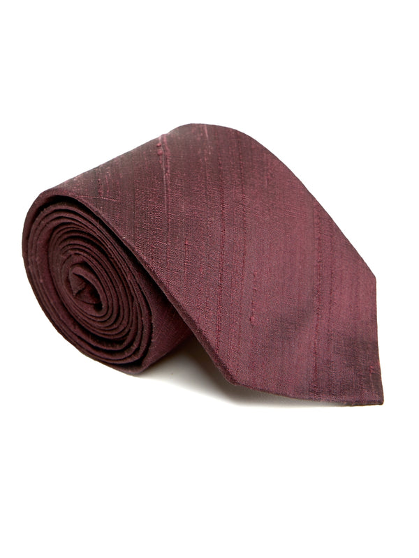 Blackcurrant Douppion Silk Tie