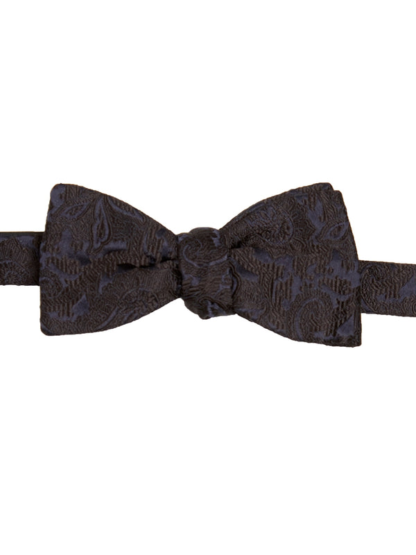 Navy Albert Silk Bow Tie
