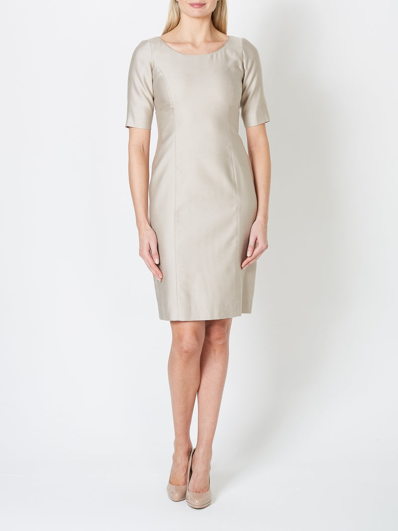 Cilla Dress Mineral Connaught Silk