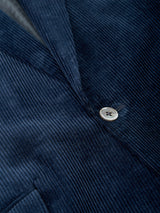 Navy Penton Cord Cotton Newport Jacket