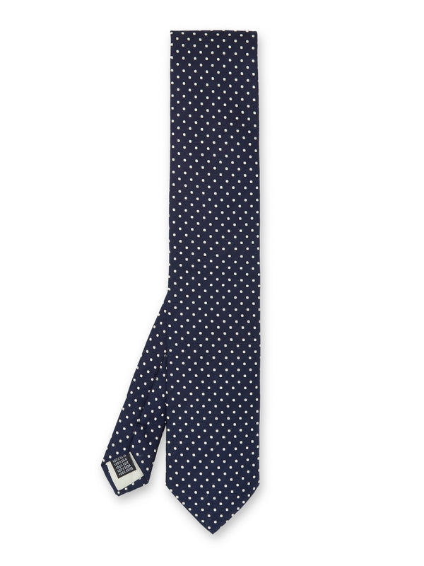 Albany Midnight Silk Tie