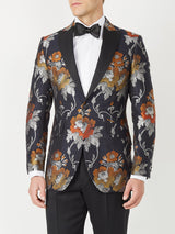 Navy Belvoir Silk / Wool Dinner Jacket