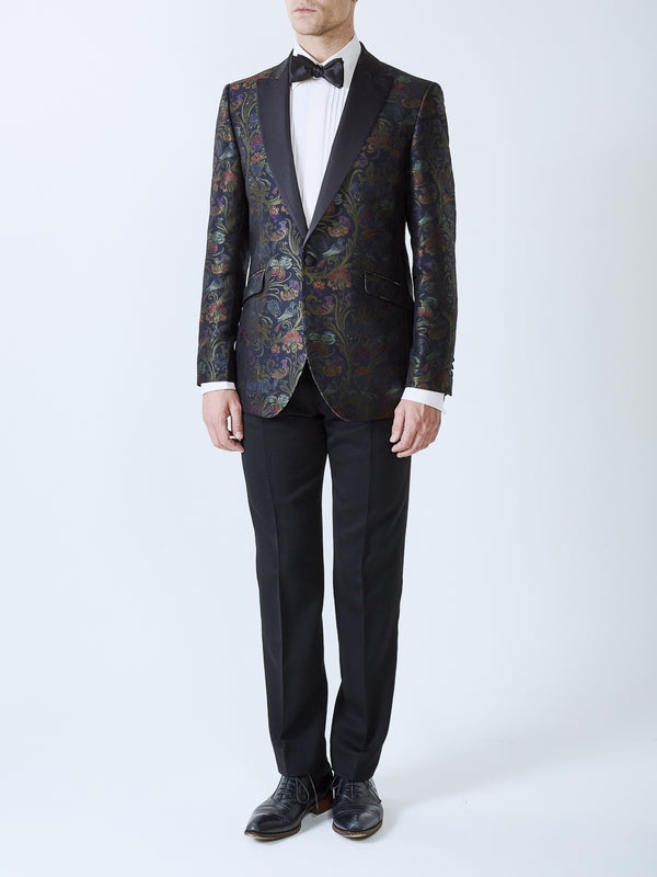 Midnight Davenport Silk Dinner Jacket