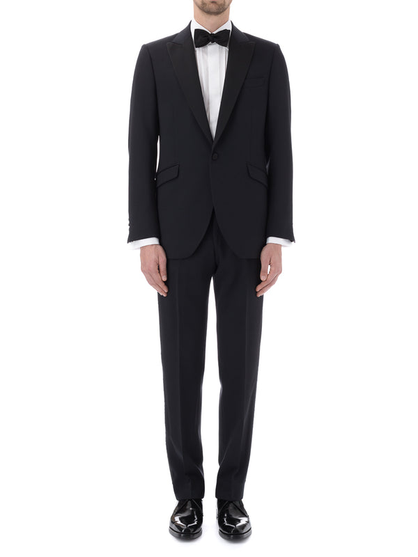 Midnight Hampton Barathea Wool Dinner Jacket