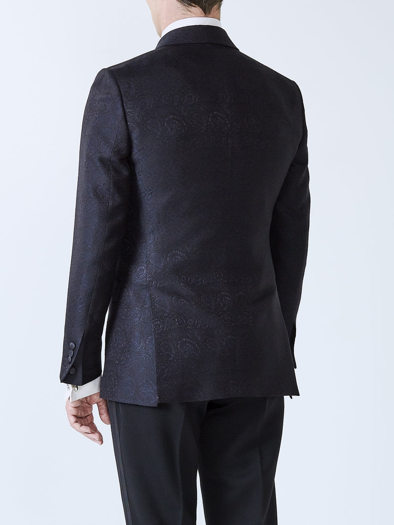 Midnight Vincent Silk Dinner Jacket