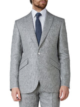 Charcoal Culcross Linen Newport Jacket