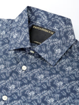 Navy Fern Cotton Oratory Shirt