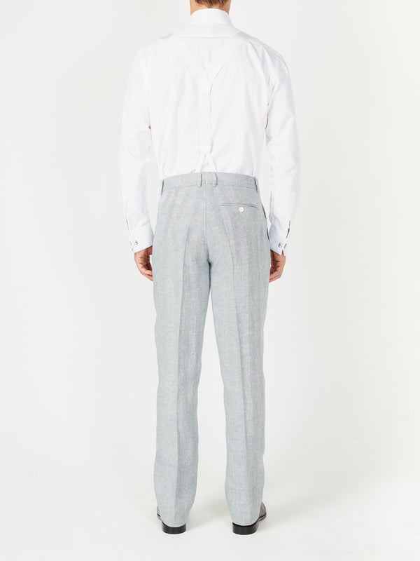 Sage Cromer Linen Windsor Trouser