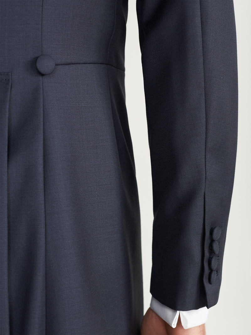 Navy Furlong Wool Morning Coat