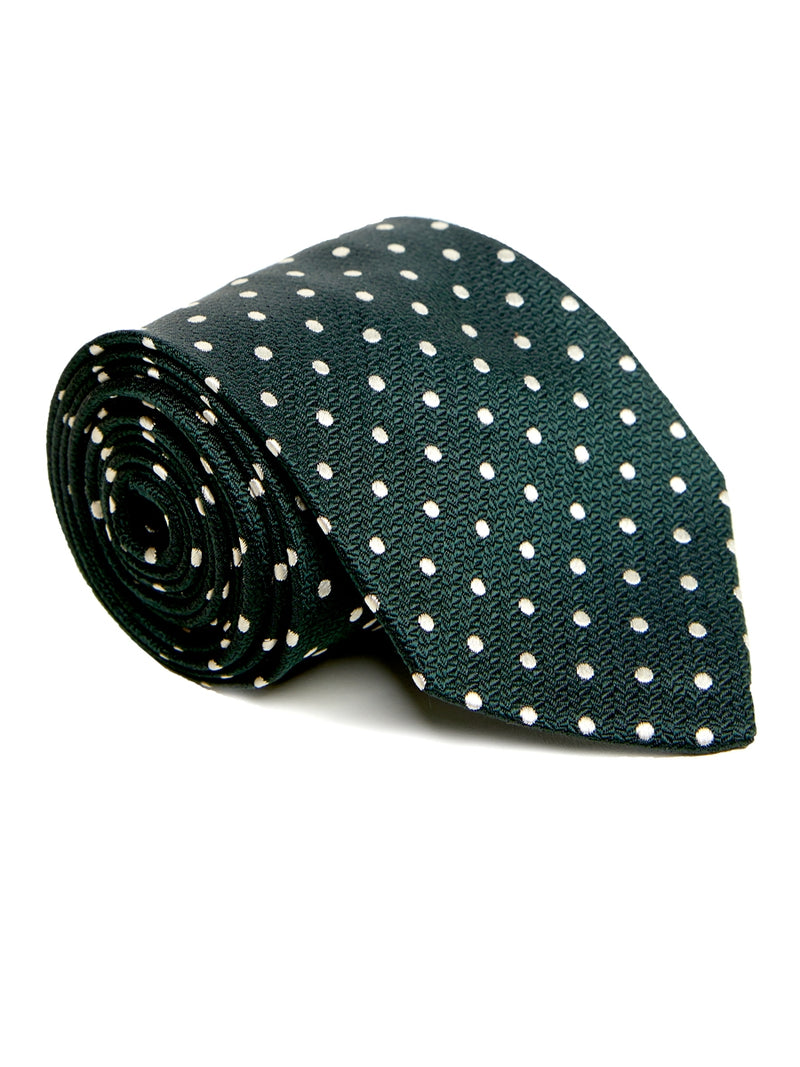 Green Pickwick Silk Tie