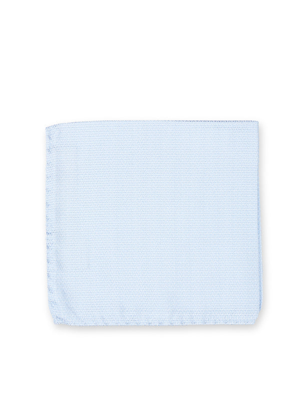 Windsor Sky Blue Pocket Square