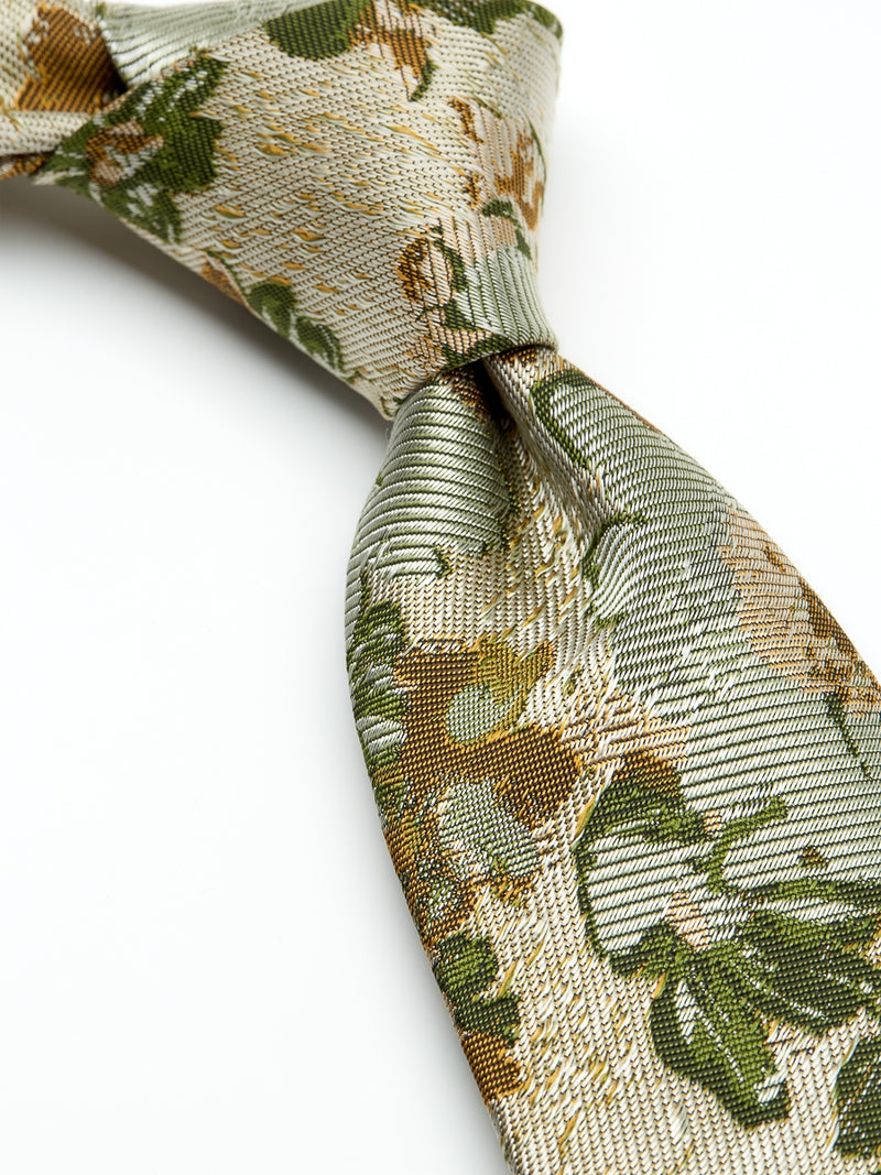 Gold Chatsworth Silk Tie