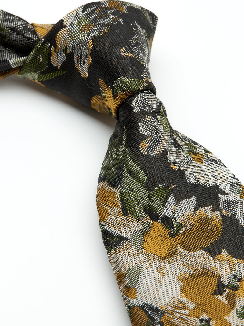 Olive Chatsworth Silk Tie