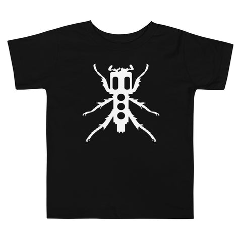 New Beedle Toddler T-Shirt (White Print)