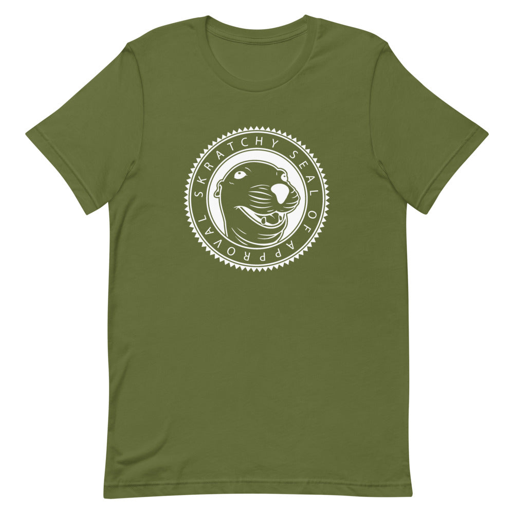 Skratchy Seal of Approval Men's T-Shirt
