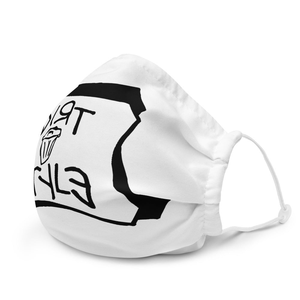 Dirtstyle Face Mask (White)