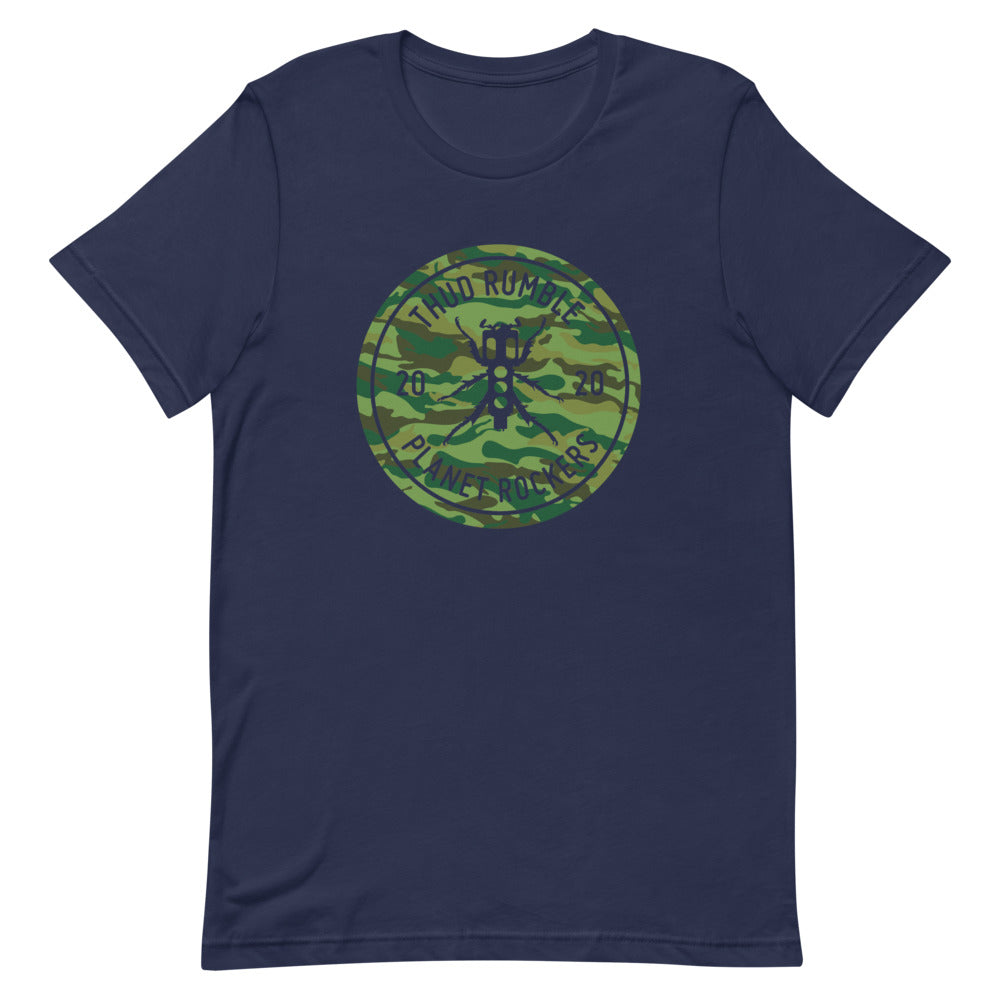 Planet Rockers Men's T-Shirt (Camo Print)