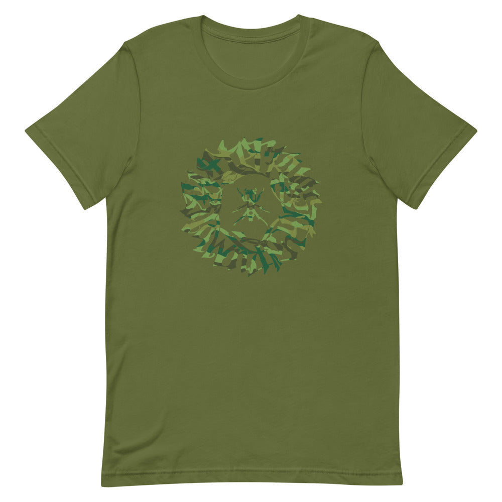 Guess Tag Men's T-Shirt (Camo Print)