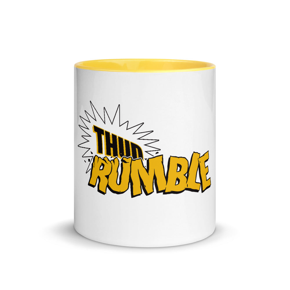 Thud Rumble Logo Mug (Yellow)