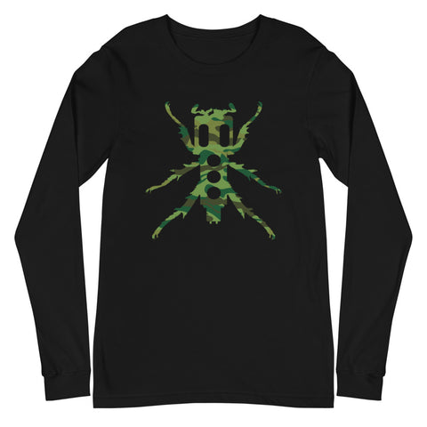 New Beedle Long Sleeve T-Shirt (Camo Print)