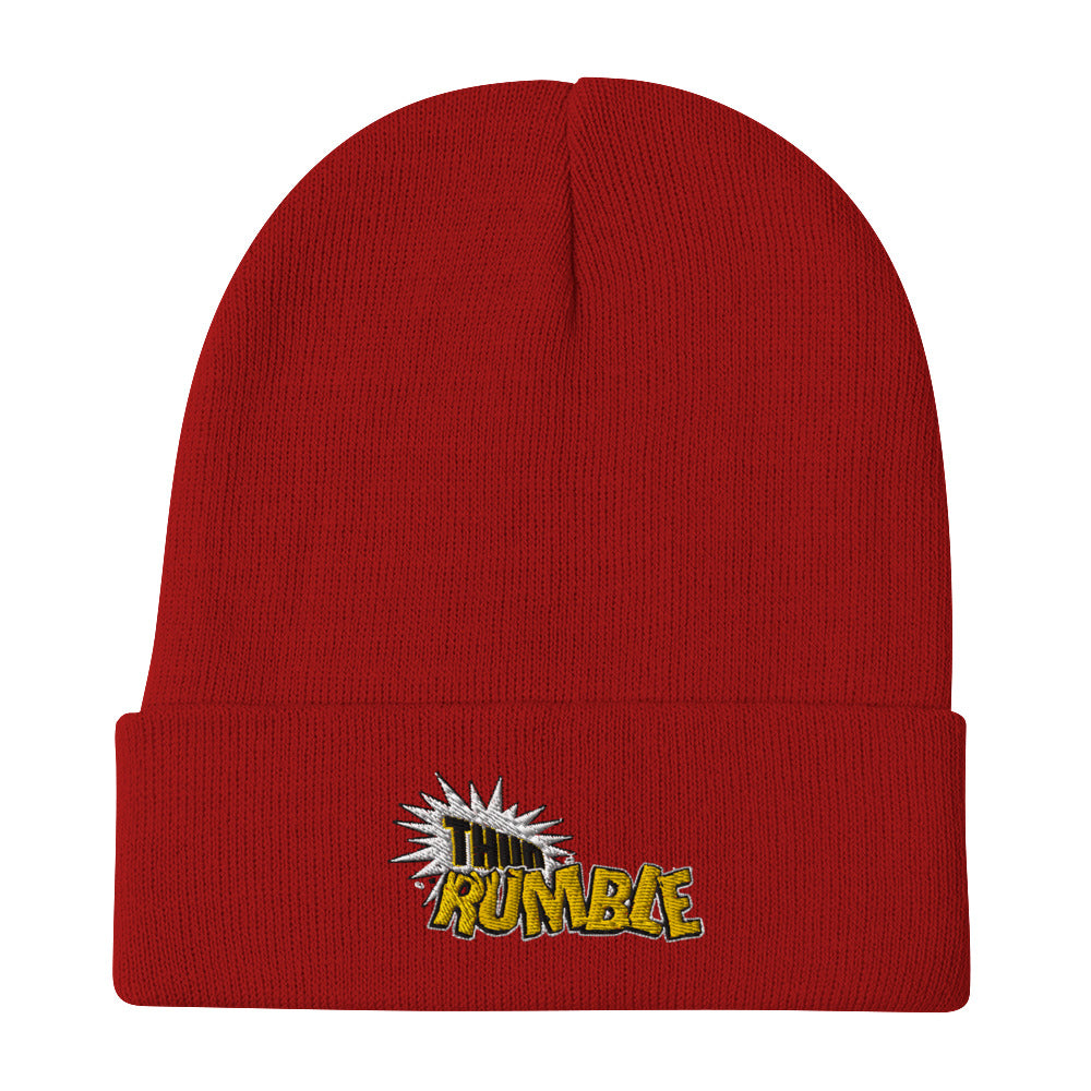 Thud Rumble Embroidered Beanie
