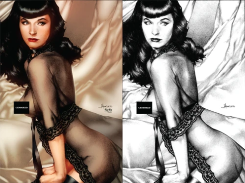 BETTY PAGE VIRGIN EXCLUSIVE