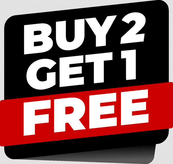 BUY 2 GET 1 FREE EXCLUSIVES