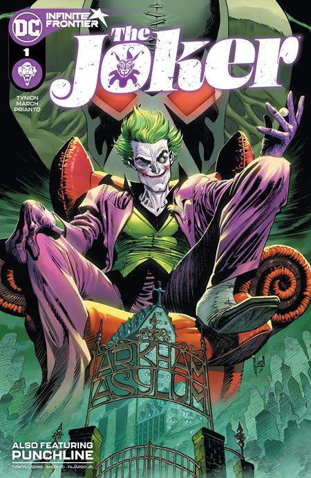 JOKER #1 CVR A GUILLEM MARCH (03/09/2021)