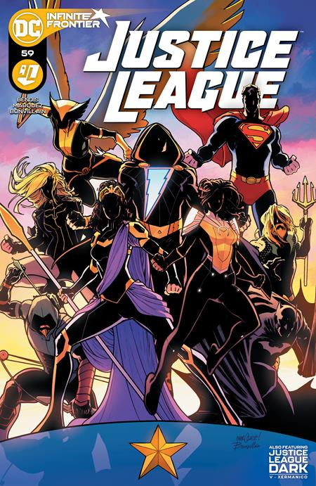 JUSTICE LEAGUE #59 CVR A DAVID MARQUEZ (03/16/2021)