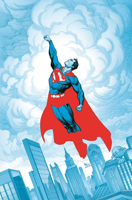 SUPERMAN RED & BLUE #1 (OF 6) CVR A GARY FRANK (03/16/2021)