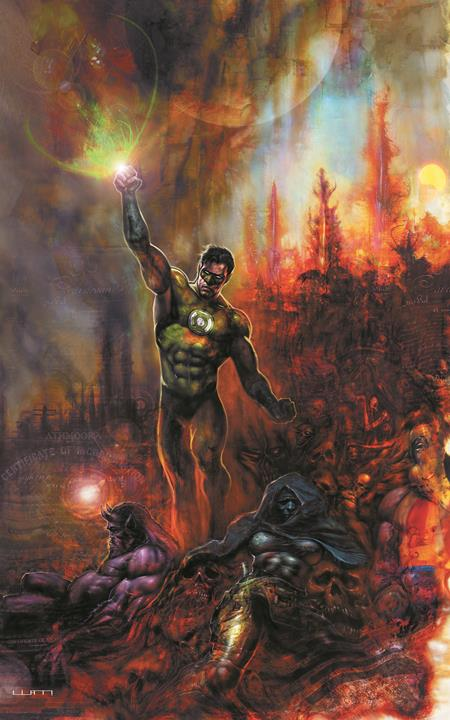 GREEN LANTERN SEASON TWO #12 (OF 12) CVR A LIAM SHARP (03/09/2021)