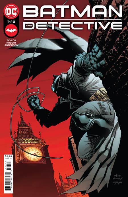 BATMAN THE DARK KNIGHT #1 (OF 6) CVR A ANDY KUBERT (4/13/2021)