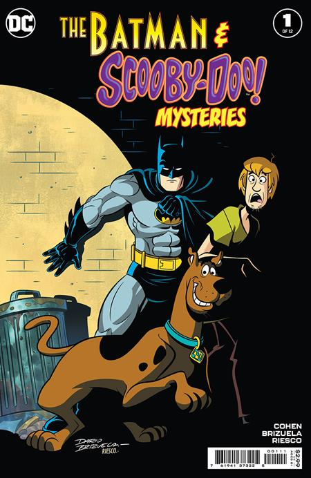 BATMAN & SCOOBY-DOO MYSTERIES #1 (OF 12) (4/13/2021)
