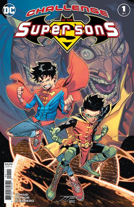 CHALLENGE OF THE SUPER SONS #1 (OF 7) CVR A JORGE JIMENEZ (4/13/2021)