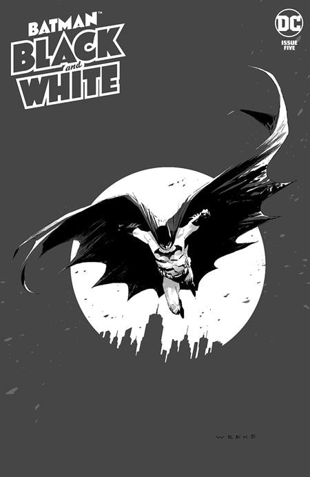 BATMAN BLACK & WHITE #5 (OF 6) CVR A LEE WEEKS (4/27/2021)