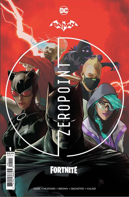 BATMAN FORTNITE ZERO POINT #1 MIKEL JANÌN (4/20/2021 )