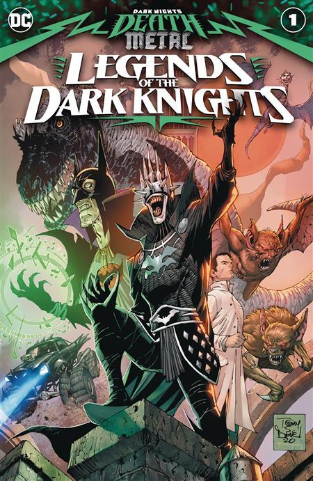 DARK NIGHTS DEATH METAL LEGENDS OT DARK KNIGHTS #1 CVR A 7/28/2020