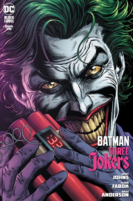 BATMAN THREE JOKERS #1 (OF 3) PREMIUM VAR C 8/25/2020 BACKISSUE