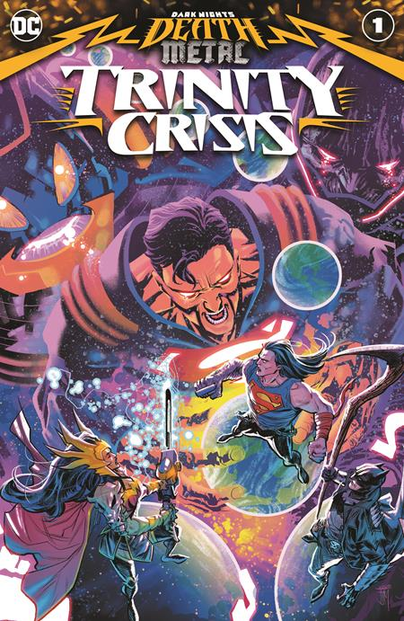DARK NIGHTS DEATH METAL TRINITY CRISIS #1 (ONE SHOT) CVR A FRANCIS MANAPUL (9/8/2020) BACKISSUE