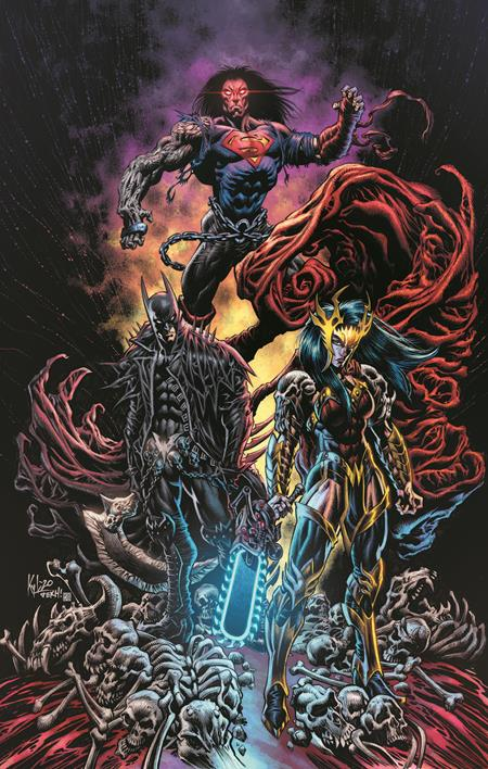 DARK NIGHTS DEATH METAL TRINITY CRISIS #1 (ONE SHOT) INC 1:25 KYLE HOTZ VAR (9/8/2020)