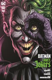 BATMAN THREE JOKERS #3 (OF 3) CVR A JASON FABOK JOKER (MR) (10/27/2020) BACKISSUE