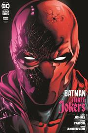 BATMAN THREE JOKERS #3 (OF 3) CVR B JASON FABOK RED HOOD VAR (MR) (10/27/2020) BACKISSUE
