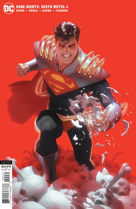 DARK NIGHTS DEATH METAL #4 (OF 7) CVR C ALEX GARNER SUPERBOY-PRIME VAR (10/13/2020) BACKISSUE